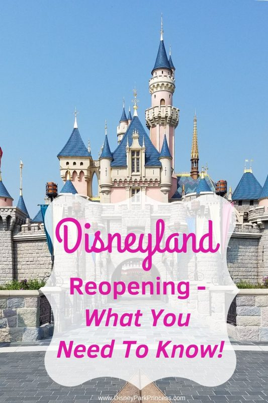Disneyland is reopening on July 17, 2020. Here is what you need to know before you visit! #disneyland #anaheim #california #disneylandreopening