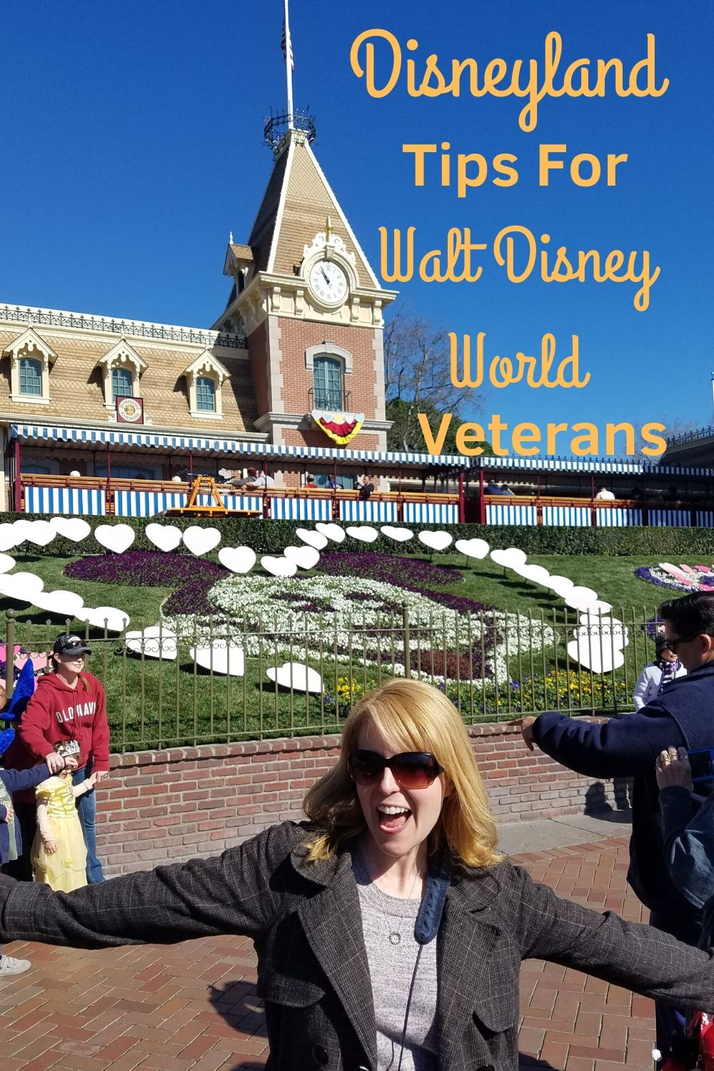 Visiting Disneyland for the first time? Check out our tips for Walt Disney World veteran visitors! #disneyland #dl #first visit