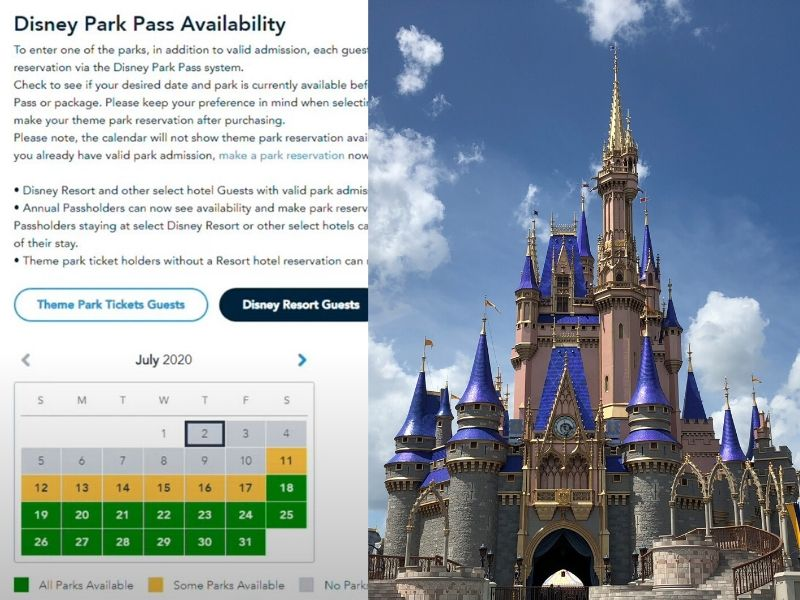 How to Book Walt Disney World Park Pass Reservations