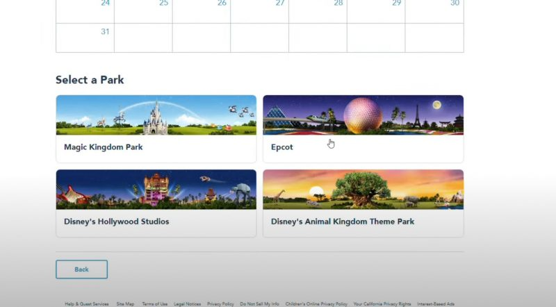 Park Pass My Disney Experience