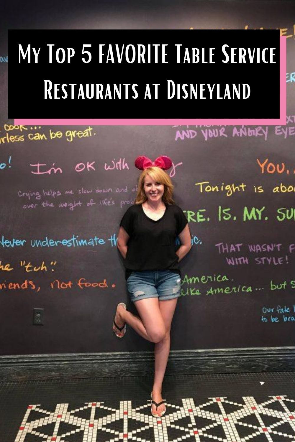 Here are my favorite restaurants to grab a meal at Disneyland! #disneyland #dl #disney #disneyfood #restaurants