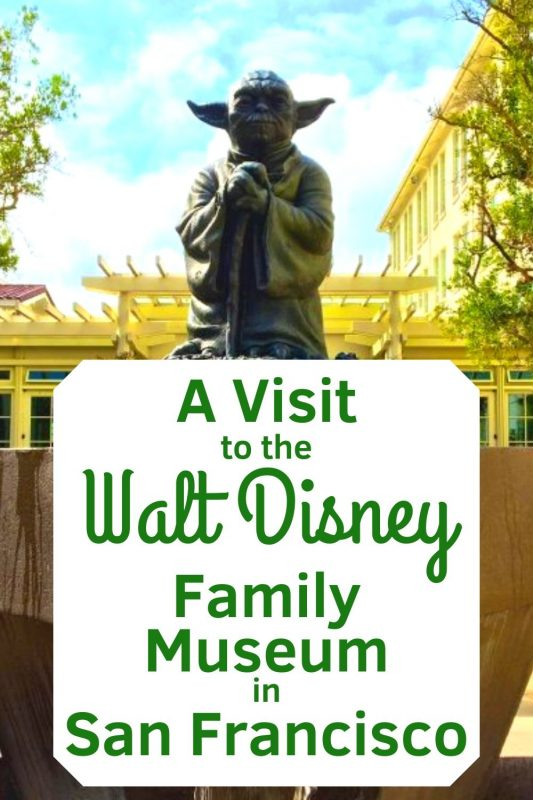 The Walt Disney Family Museum is a must visit location for any Disney Fan! This incredible museum in San Francisco has amazing displays for the entire family from the most casual Disney Fan to the lifelong Disney enthusiast. #waltdisneyfamilymuseum #sanfranciso #familytravel #vacation