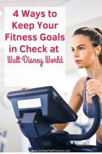 Going to Walt Disney World does not have to mean giving up on your fitness goal! Learn four ways to stay in shape at Walt Disney World. #waltdisneyworld #disneyworld #fitnessgoals #travel #stayinshapedisney