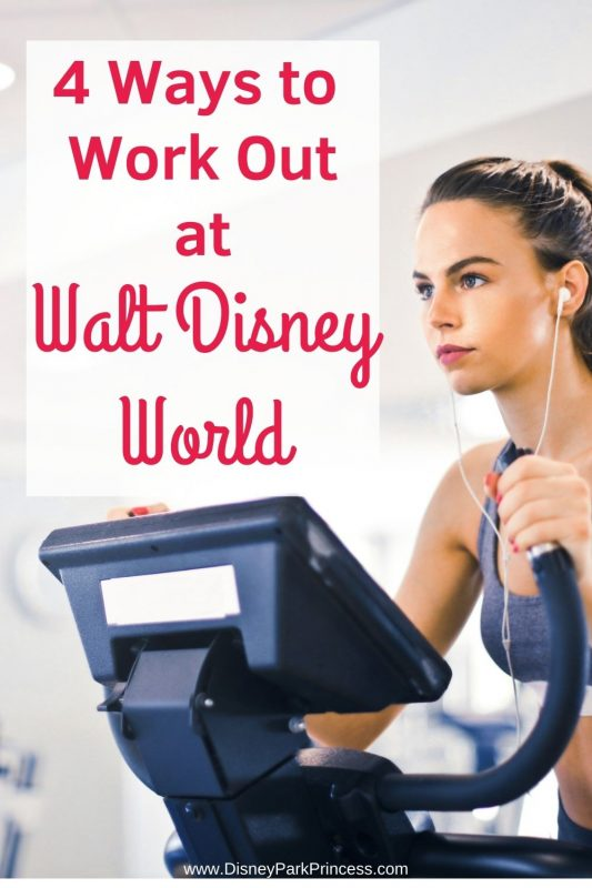Want to stay in shape at Walt Disney World? Check out these 4 Ways to Work Out at Walt Disney World! #fitness #travel #stayinshape #waltdisneyworld #disney #rundisney