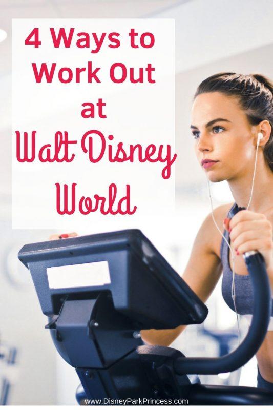 Want to stay in shape at Walt Disney World? Check out these 4 Ways to Work Out at Walt Disney World! #fitness #travel #stayinshape #waltdisneyworld #disney #rundisney
