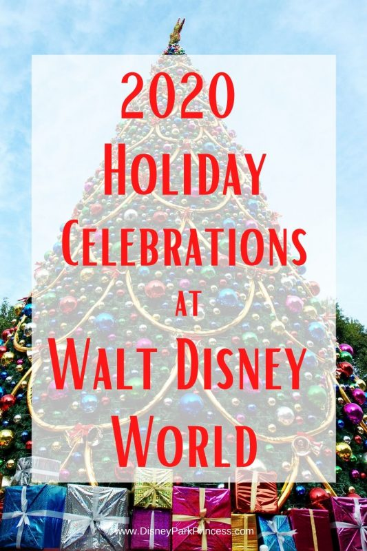 We love the holidays at Walt Disney World! This year may look a bit different, but still magical. Learn what changes are coming to Walt Disney World this year, and what magic will be returning. #disneyholidays #disneyworld #waltdisneyworld #disneytripplanning #disneytips