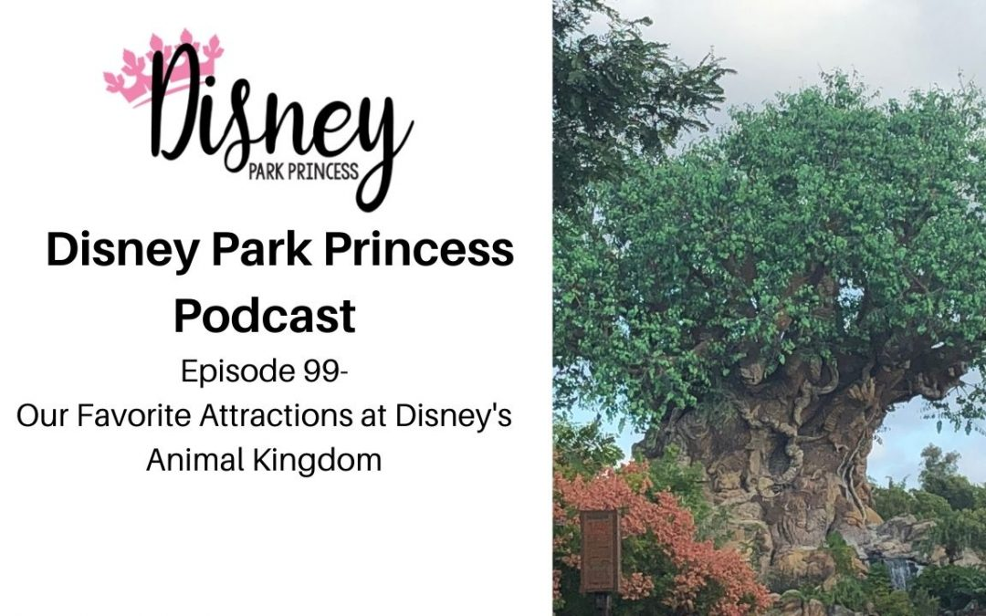 Episode 99- Our Favorite Attractions at Disney's Animal Kingdom