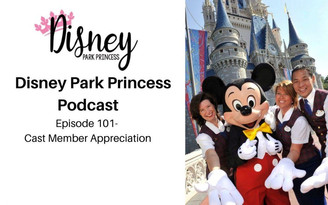 Disney Park Princess Episode 101 Disney Cast Member Appreciation