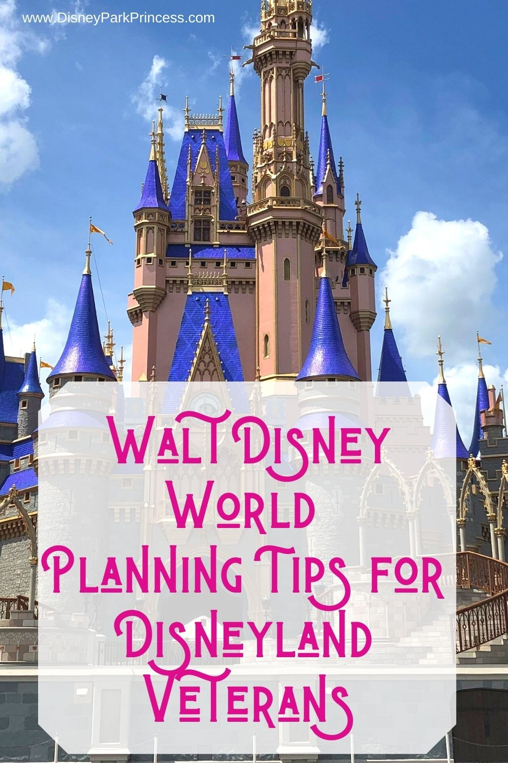 If you're familiar with Disneyland but are planning your first visit to Walt Disney World, these are the planning tips for you! #waltdisneyworld #disney #planning