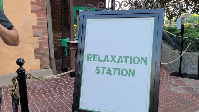 relaxation station