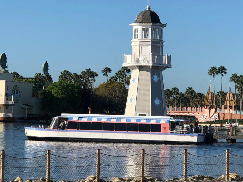 How to Get Around Walt Disney World Boat