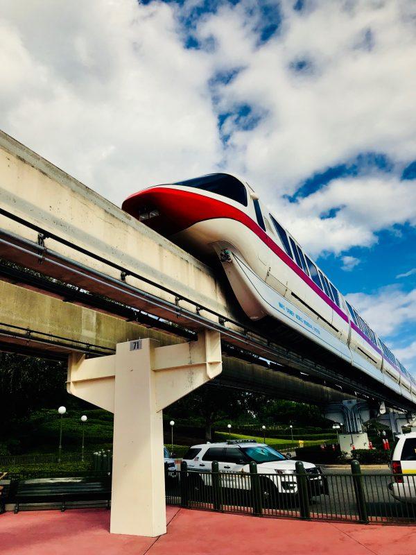 Getting Around Walt Disney World Monorail