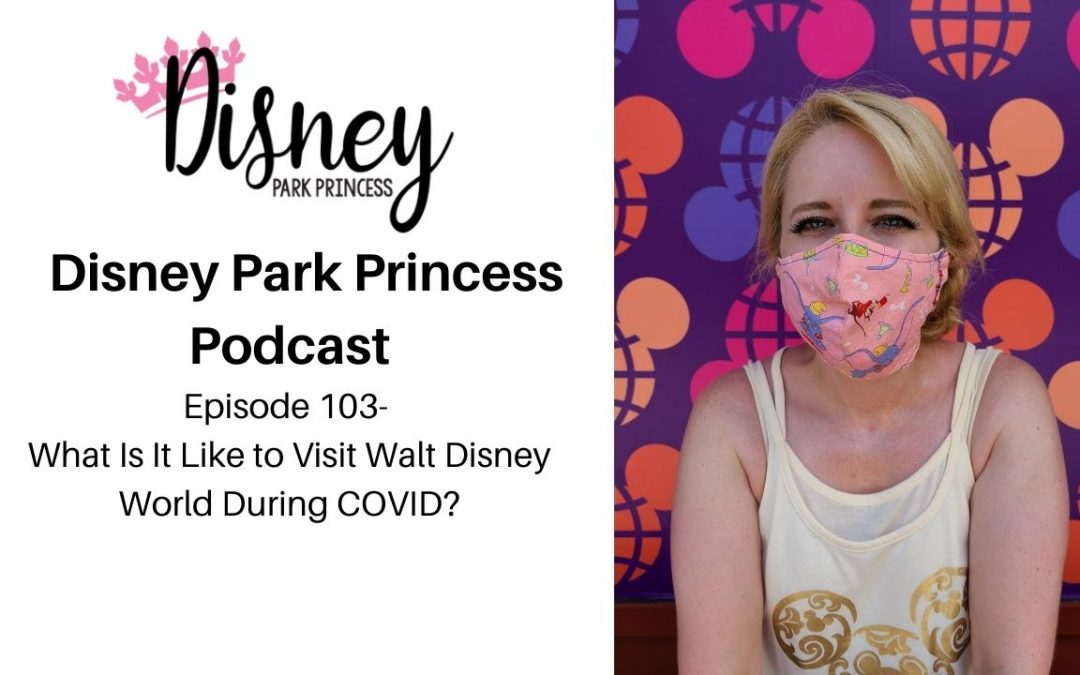 Episode 103- What Is It Like to Visit Walt Disney World During COVID?