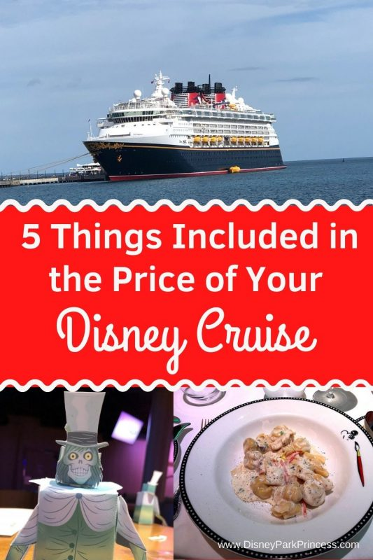 Let's face it- Disney Cruises are not inexpensive! There is much more included in the cost of your cruise than is not included; here are some of the best included (free) things onboard. #disneycruiseline #travel #disney #dcl