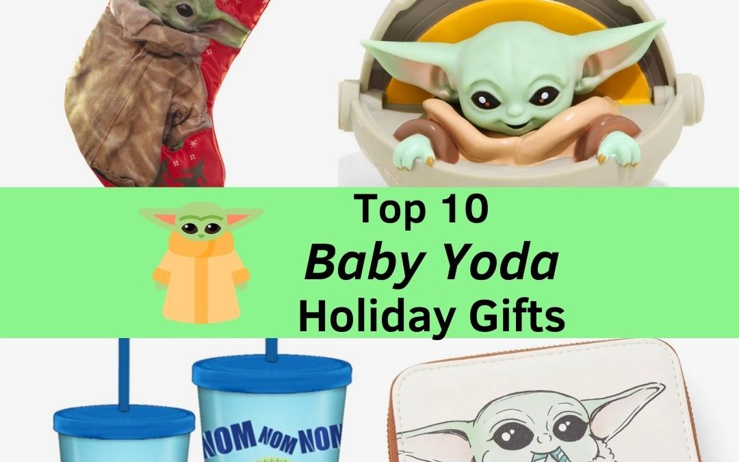 Our Top 10 Favorite Baby Yoda Holiday Gifts
