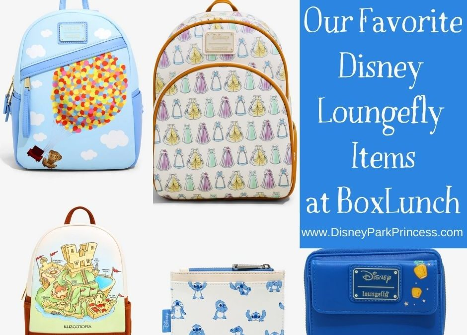Top 5 Favorite Disney Loungefly Bags You Can Find At BoxLunch