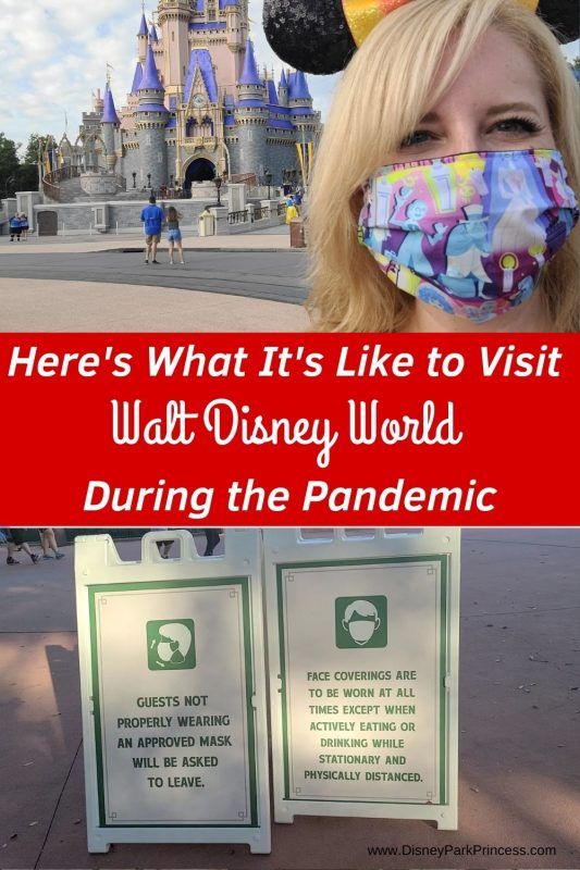 I went to Walt Disney World during the Pandemic to see what it's like! Learn about crowds, masks, transportation, and more! #waltdisneyworld #wdw #disney #pandemic #covid19 #disneytips #disneyplanning