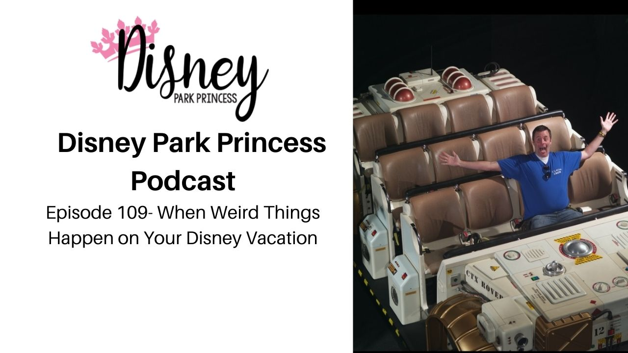 Episode 109- When Weird Things Happen on Your Disney Vacation