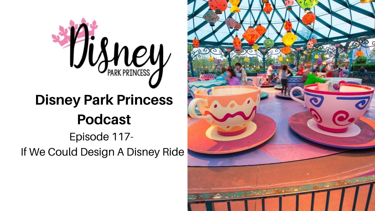 Episode 117 - If We Could Design A Disney Ride