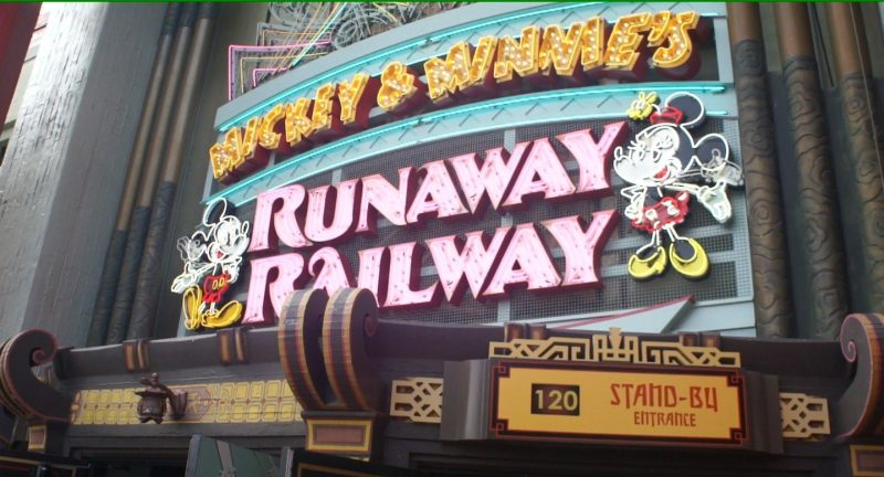 Mickey & Minnie's Runaway Railway- Looking Forward to Riding This!