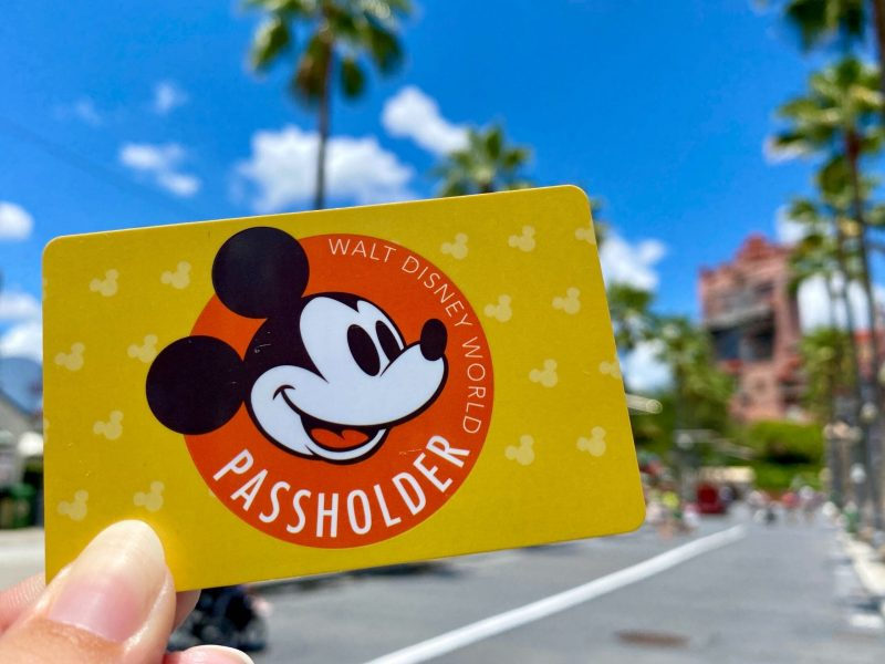 Walt Disney World Annual Pass Shopping