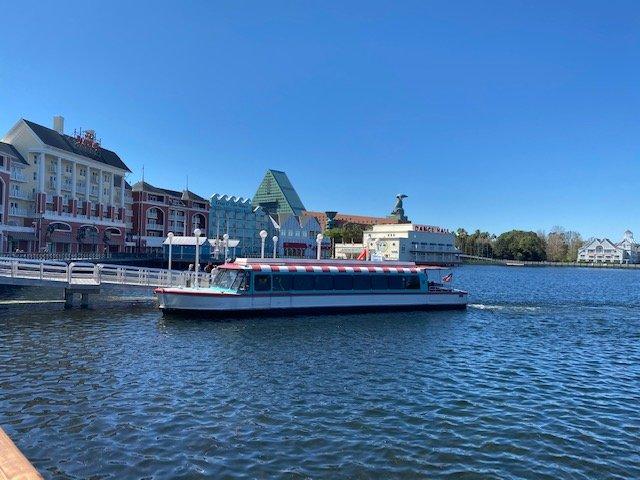 Disney's Boardwalk Inn Walt Disney World Transportation Boat Dock