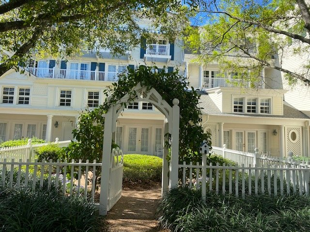 Boardwalk Inn Garden Cottage Walt Disney World
