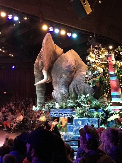 Walt Disney World Disney's Animal Kingdom Festival of the Lion King attractions I skip