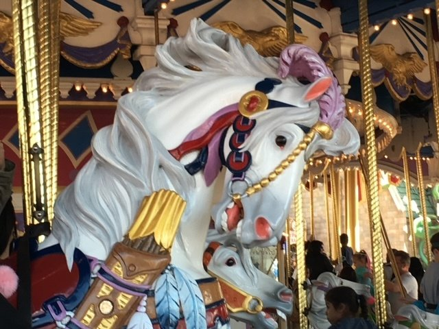 prince charming carrousel magic kingdom attractions walt disney world