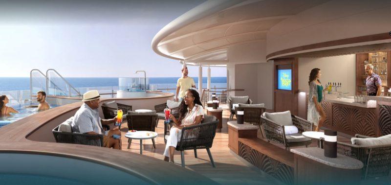 Disney Cruise Line Wish Quiet Cove Pool Adult