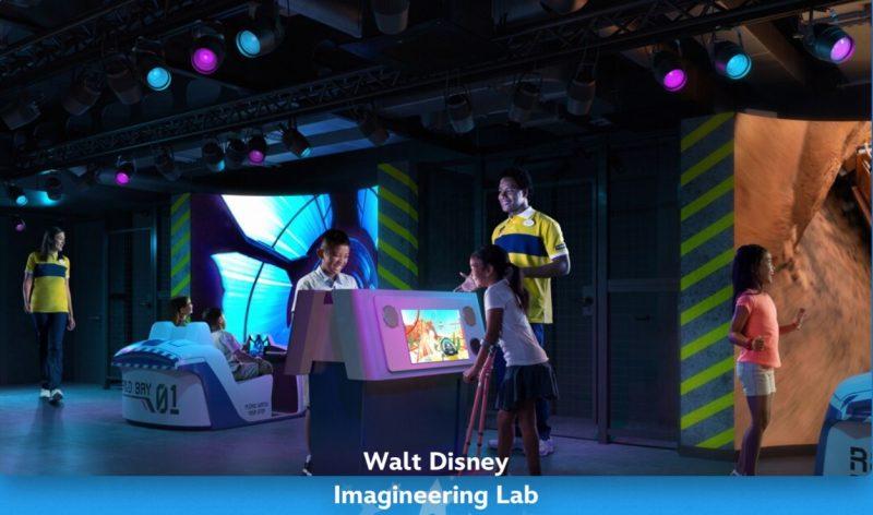 Disney Cruise Line Wish Imagineering Lab Kids Club