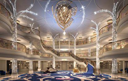 Disney Cruise Line Wish Atrium