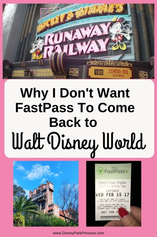 Why I Don't Want Fastpass to Come Back