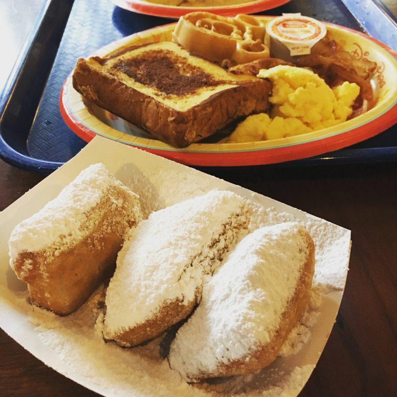 Beignets Port Orleans French Quarter Walt Disney World Resorts Favorite Things to Eat
