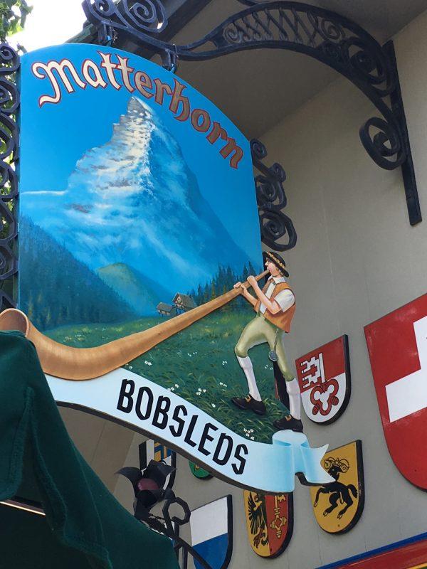 Which Attractions I Skip Disneyland Matterhorn Bobsleds