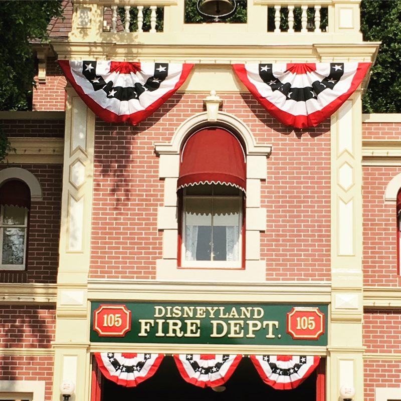 Disneyland Fire House Walt's Apartment