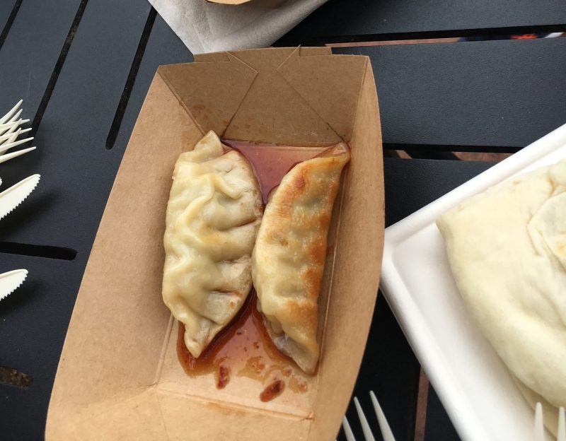 Favorite Things to Eat Epcot China Potstickers