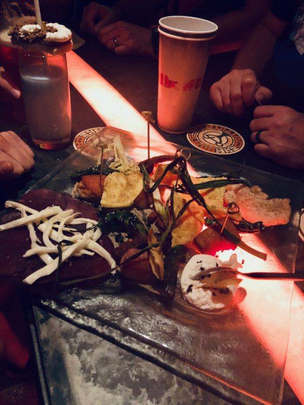 Favorite Things to Eat Disney's Hollywood Studios Oga's Cantina Charcuterie