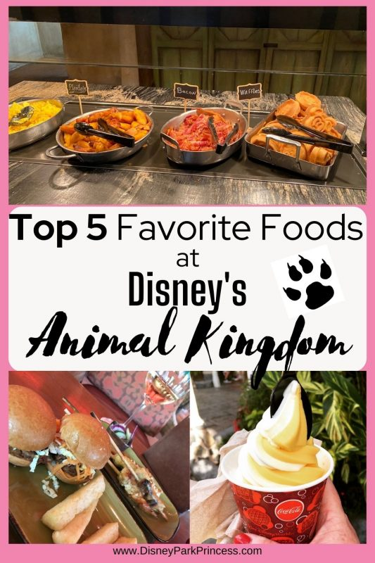 Disney's Animal Kingdom is so much more than amazing animals. There is also incredible food! Here are my Top 5 Favorite Things to Eat at Disney's Animal Kingdom