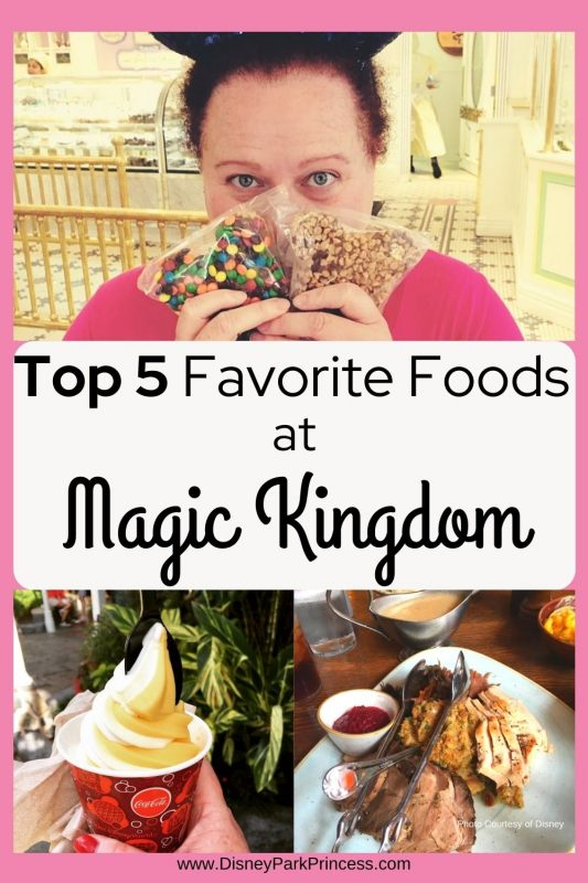 Top 5 Favorite Things to Eat at Magic Kingdom