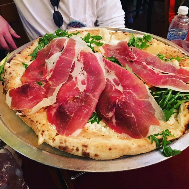 Via Napoli Prosciutto Melon pizza Epcot Favorite Things to Eat