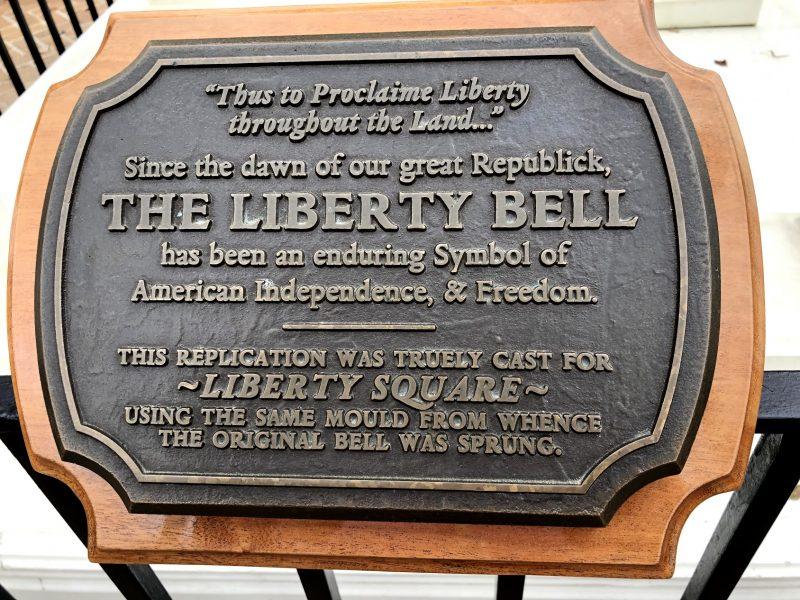 Liberty Bell text