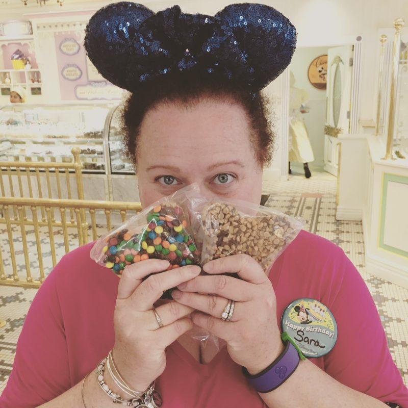 Mickey Rice Krispy Treat Magic Kingdom Favorite Things to Eat