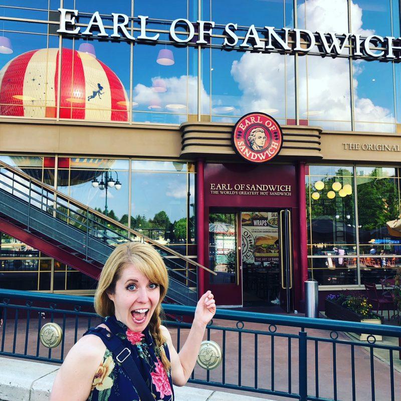 Earl of Sandwich Disneyland Paris Favorite Things to Eats